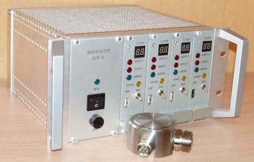 Анализатор-сигнализатор взрывоопасности АСВ-2