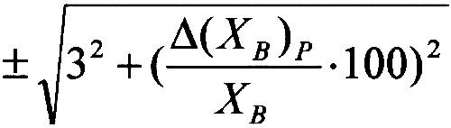 Формула 3. Пределы допускаемой относительной погрешности