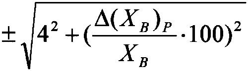 Формула 2. Пределы допускаемой относительной погрешности
