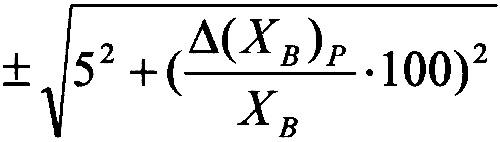 Формула 1. Пределы допускаемой относительной погрешности